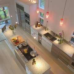 modern kitchen by Pamela Pennington Studios