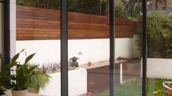 Modern House Extension and Garden Design