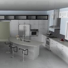 Modern Kitchen by IKD - INSPIRED KITCHEN DESIGN