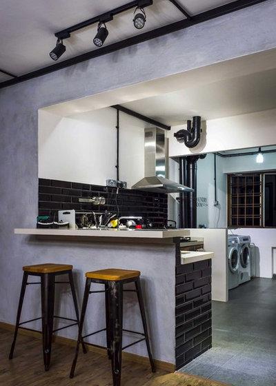 Scandinavian Kitchen by Bayti Design pte Ltd