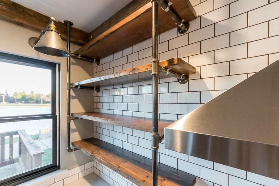 Modern Industrial Kitchen/Dining /Family Room St Joseph