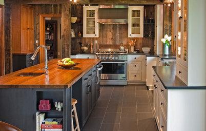 Steel Is the Secret Ingredient in This Farmhouse Kitchen