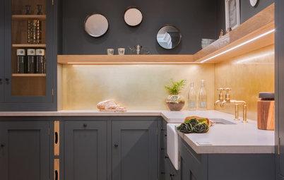 6 Stunning Alternatives to Tiled Kitchen Backsplashes