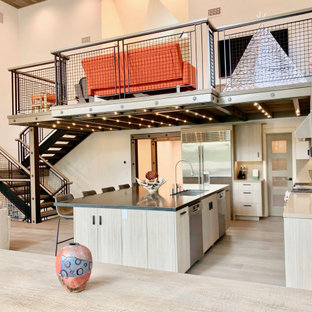 75 Beautiful Industrial Home Design Pictures Ideas Houzz