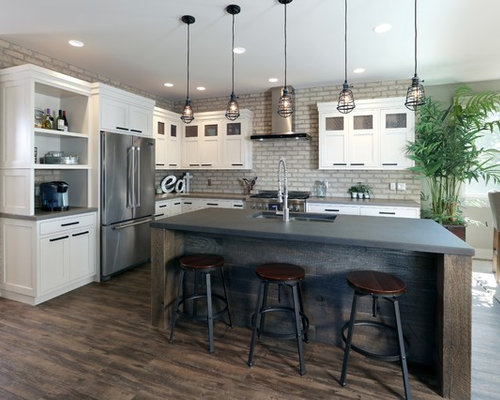 Industrial Kitchen Design Ideas Amp Remodel Pictures Houzz