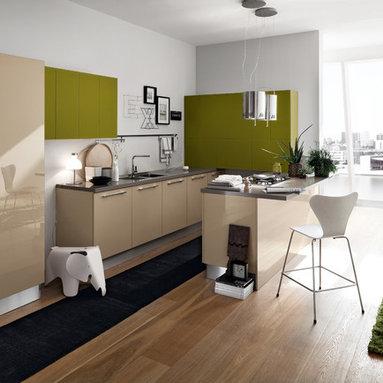 Modern Italian Kitchen Cabinets (by EFFEQUATTRO - Ray) - evaa