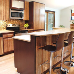modern kitchen by Judith Balis