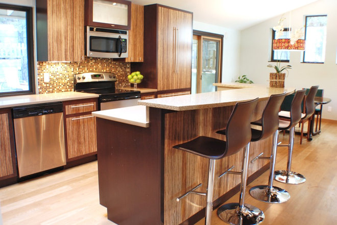 Contemporary Kitchen by Judith Balis Interiors