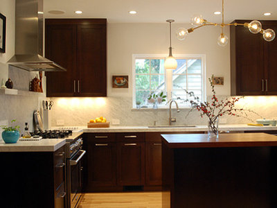 Contemporary Kitchen by risa boyer architecture