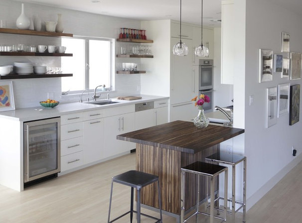 Modern Kitchen by Cliff Spencer Furniture Maker