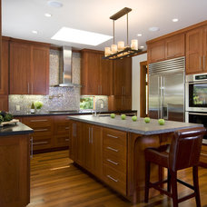 Craftsman Kitchen by Alexandra Luhrs Interior Design