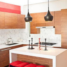 Contemporary Kitchen by LOCZIdesign