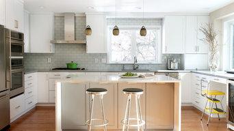 Modern Kitchen & Master Bathroom - Windsor, CT