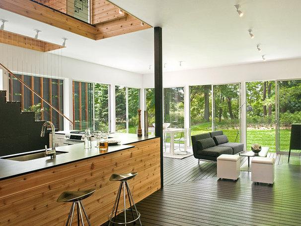 Modern Kitchen by Bates Masi Architects LLC