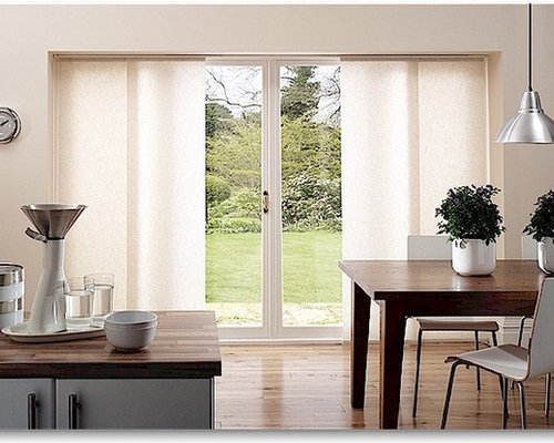 Patio door window treatments houzz minimalist kitchen photo in other planetlyrics Images