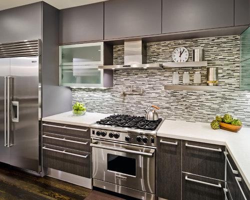 Modern Kitchen Cabinets Offer a Streamlined Look and Maximum Storage