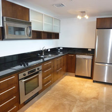 Modern Kitchen Cabinetry by Visions