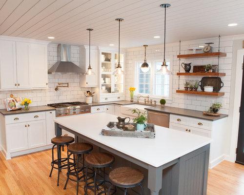 Best White Brick Backsplash Design Ideas Amp Remodel