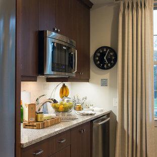 Modern kitchen appliance - Inspiration for a modern kitchen remodel in Charlotte