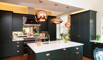Modern kitchen copper details