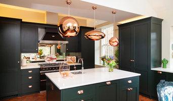 Modern kitchen copper details