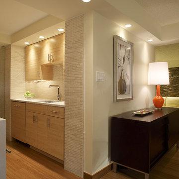 Modern Kitchen Design - Bamboo
