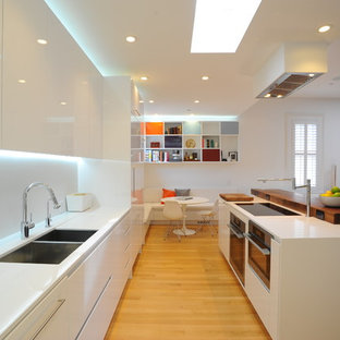 White Lacquer Kitchen | Houzz