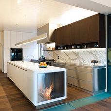 Modern Kitchen by EcoSmart Fire