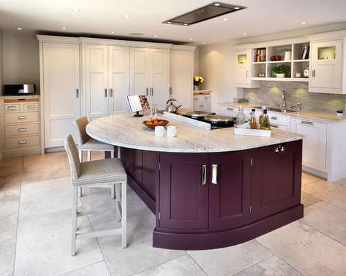 kitchen   large transitional l shaped kitchen idea in other with an undermount sink english style kitchen aga   houzz  rh   houzz com