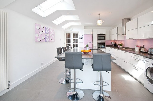 Contemporary Kitchen by A1 Lofts along with Extensions