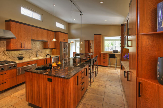 Modern Kitchen by Mosby Building Arts