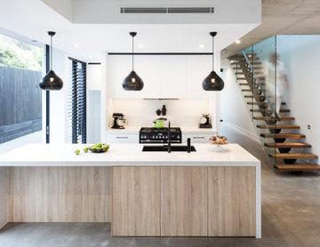 Modern Kitchen ft. Falcon Kitchener