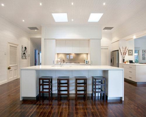Kitchen Design Ideas Brisbane brisbane dulux grey kitchen design ideas, renovations & photos