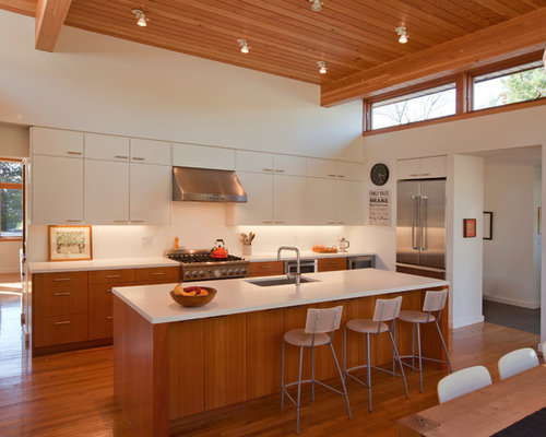 White Upper Cabinets Home Design Ideas, Pictures, Remodel and Decor