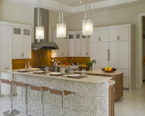 Tempered glass counter top houzz for Tempered glass countertop vs granite