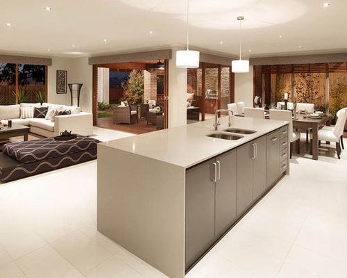Linen Caesarstone Home Design Ideas Pictures Remodel And