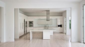 Modern Kitchen In Bridgehampton, The Hamptons, Long Island, NY