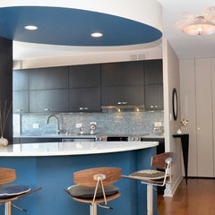 modern kitchen by Entwine Interiors/Norma S. Zeiger, ASID