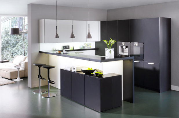 Matt or glossy how to choose the right kitchen cabinet for Modern kitchen cabinet finishes