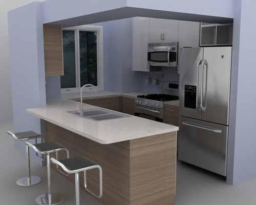 Modern Ikea Kitchen Ideas, Pictures, Remodel and Decor