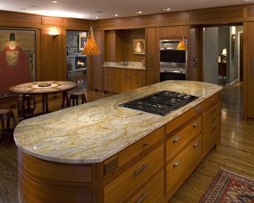 Light Granite Countertops | Houzz Light Granite Countertops Kitchen
