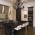 DC Row Home Kitchen - Range - Traditional - Kitchen - DC Metro - by Synergy Design & Construction