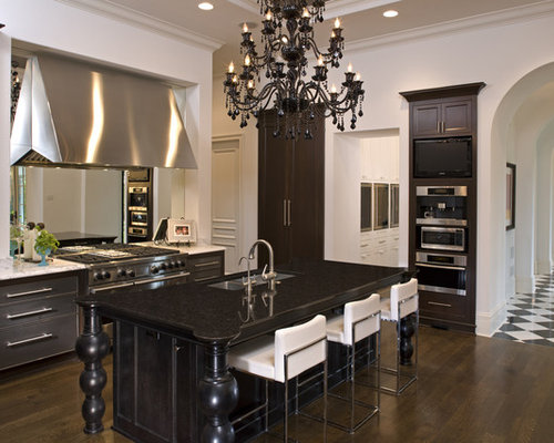 dark kitchen cabinets kitchen home design ideas pictures remodel and decor 14461