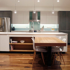 Contemporary Kitchen by Marc Hunter Woodworking   Design