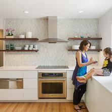 Kitchen Backsplash Shelves kitchen backsplash and hood area/shiplap shelves