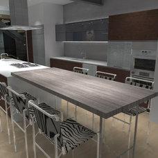 Modern Kitchen by modern house architects