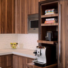 Modern Kitchen by NEFF of Chicago Custom Cabinetry and Design Studio