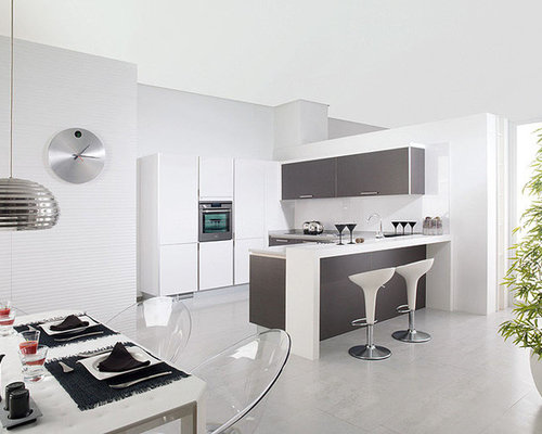 Best Porcelanosa Kitchen Design Ideas & Remodel Pictures | Houzz