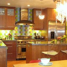 Modern Kitchen by van zee design interiors