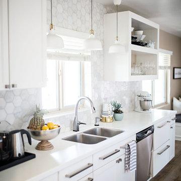 Modern Kitchen Refresh by Frances Designs